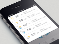 weather integration
