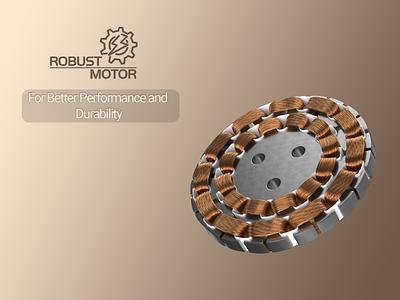 Polycab Tryst Fan - Robust Motor rendering modelling fan electronic electric designing design branding