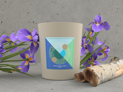 COMET CANDLE - Product Branding & Designing rendering modelling designing design branding aroma permfume flame candle