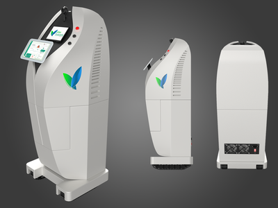 Vitex Scientific - Product Visualization electric electronic rendering modelling designing design branding