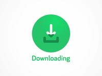 Downloading Material Design Icon/Logo Concept