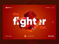 Fishy Store Landing Page