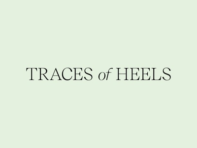 Traces of Heels — Logo