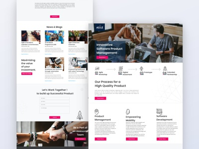 Company Website Design home page company profile company website design clean web design interaction landing page website webdesign ux ui