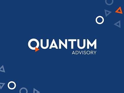 Quantum Brand brand identity design logo identity brandmark brandlogo brand
