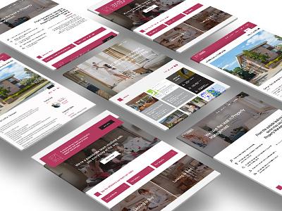 Jeff Jones Realestate wireframe identity design website web homepage ui ux
