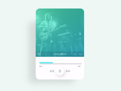 DailyUI #009 - Music player