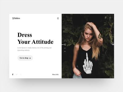 Fashion - Landing Page