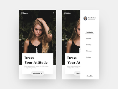 Fashion -  Mobile Screen