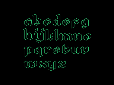 Block Alphabet block letter block letters block chain font type logo