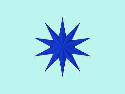 Star Ruby transitions transform star ruby design branding illustration 3d logo animation