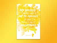 Jimi Hendrix - Bold As Love (Yellow)