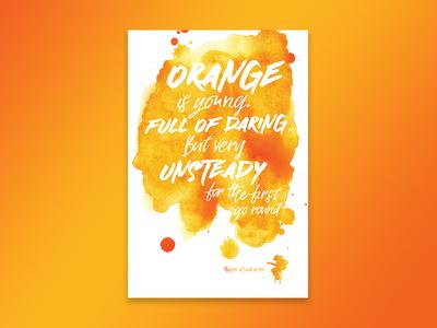 Jimi Hendrix - Bold As Love (Orange)