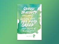 Jimi Hendrix - Bold As Love (Green)
