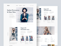 Fashion Landing Page Experiment