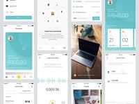 Pineapple - App Screens