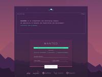 AscenDev Homepage layout