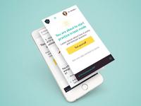 TheEverLearner Mobile design