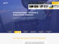 01 simultec homepage menu
