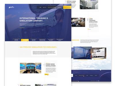 Simultec Homepage - website