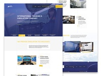 Simultec Homepage - website