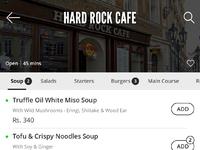 Food listing
