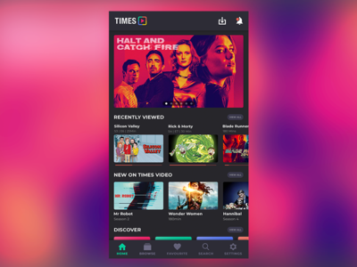 Video streaming app