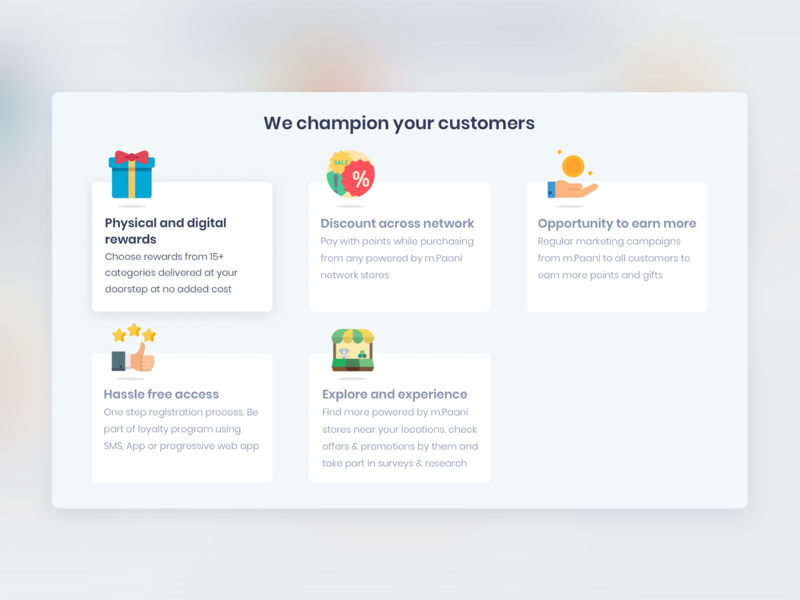 Customer section webuicard webinterface infographics customer uislide uielements webui userinterface