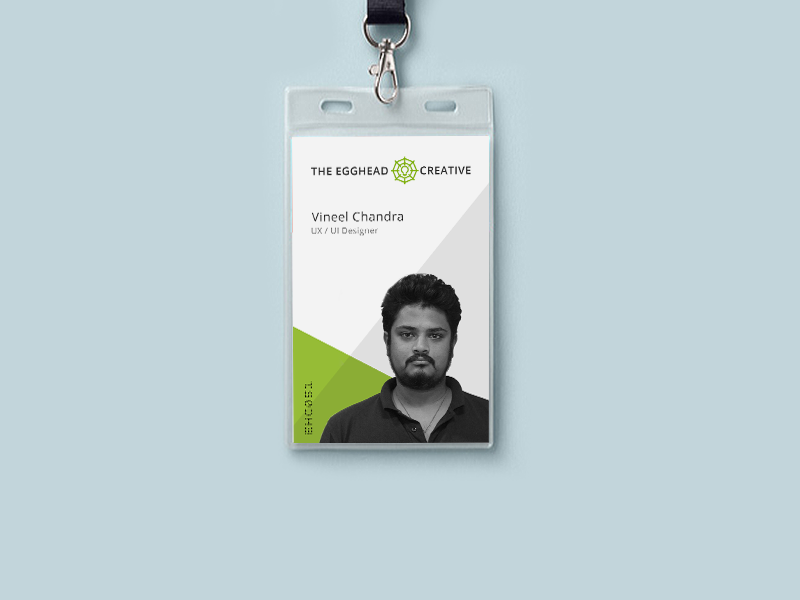 Id card design for ehc by vineel chandra dribbble for Best home office video cards