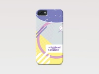 Designed mobile case for The Egghead Creative