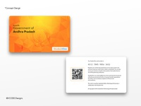 Student One - Student Card Design Concept