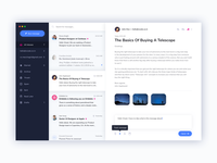 Email Client Re-Design Concept