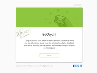Email Template Design Concept