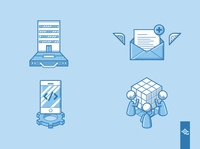 corporate related Icons