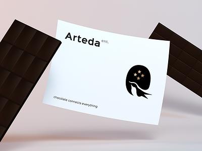 Arteda Enterprise logo brand branding corporate identity