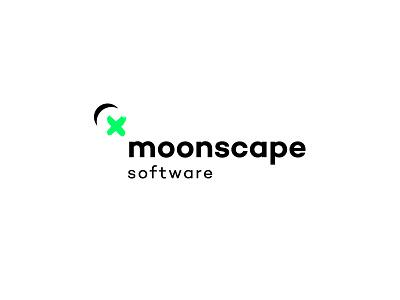 Moonscape Software Logo moon logo corporate identity brand