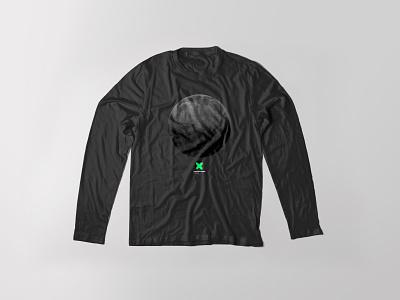 Moonscape t-shirts moon logo corporate identity brand t-shirt design