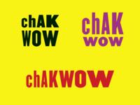 Chak Wow logo experiments