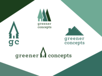 Greener Concepts Contractor logo finalists
