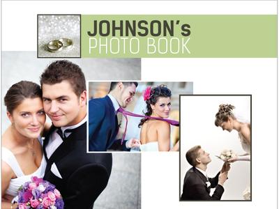 Wedding Photo Book Design (1 version)