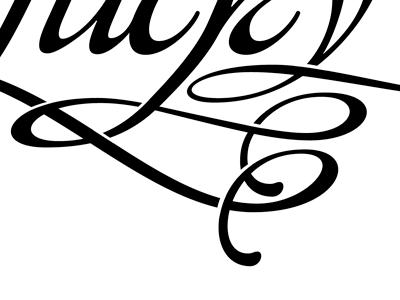 Weaving Glyphs type glyph vector swash affair alejandro paul