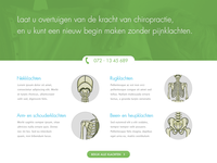 Chiropractor Homepage header