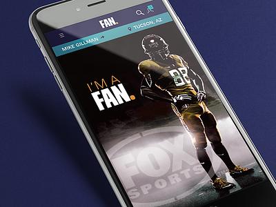 Fox Sports Fan. App app football sports fox sports nike