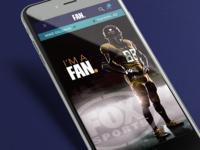 Fox Sports Fan. App