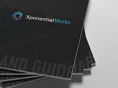 Xponential Works Brand Guide brand guide brand book brandbook brand print