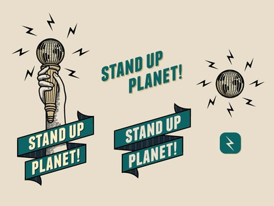 Stand Up Planet Branding Color