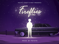 Fireflies Illustration for TRU x Peyote