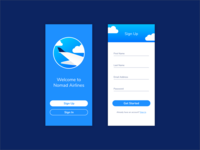 Daily UI Challenge #001  • Sign Up