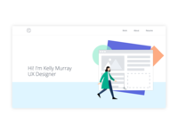 Daily UI Challenge #003 • Landing Page