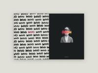 Self Seekers Zine Spreads music layout typogaphy punctuation print zine spread handwritten texture identity
